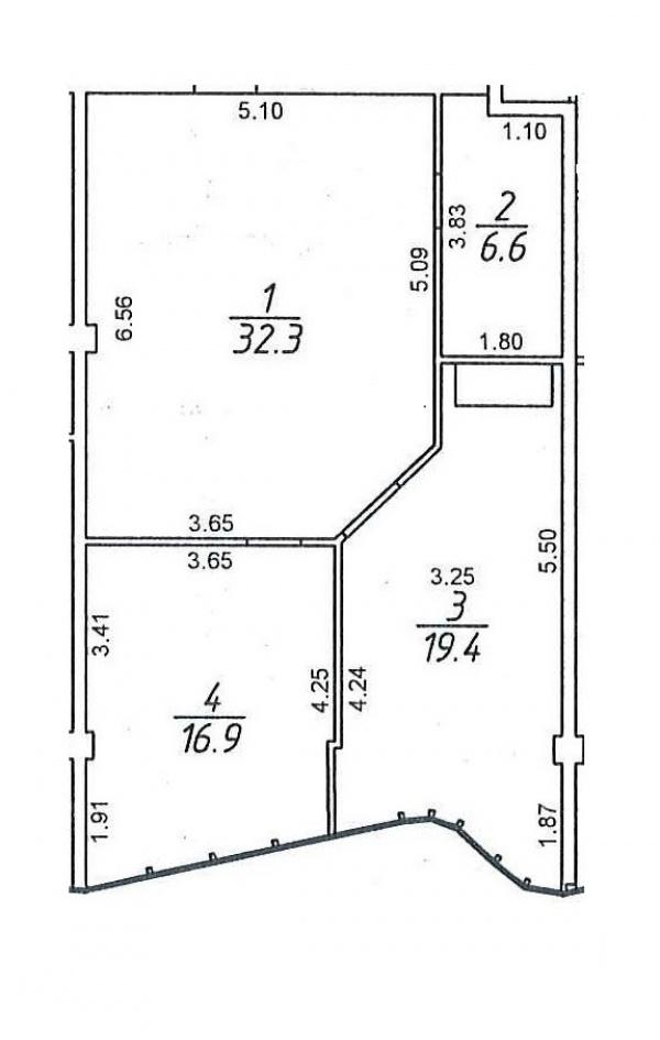 Планировки однокомнатных квартир 77 м^2
